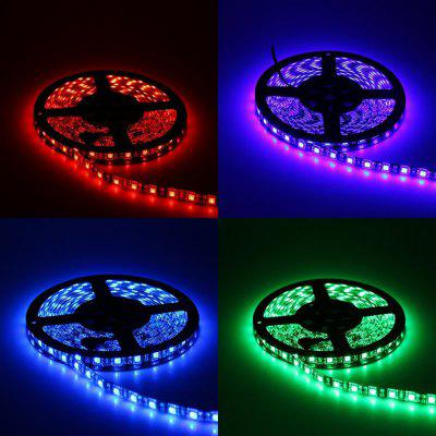 1PCS YWXLight 5M 5050SMD RGB Waterproof Flexible LED Light for Living Room Outdoor Lighting DC 12V