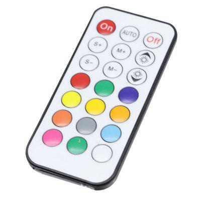 YWXLight WS2811 LED Strip Controller RGB Light With Remote Mini 21 Keys IR Control DC 5VLED Accessories<br>YWXLight WS2811 LED Strip Controller RGB Light With Remote Mini 21 Keys IR Control DC 5V<br><br>Accessory type: Remote Controller<br>Color: White<br>Material: PC<br>Package Contents: 1 x YWXLight Remote Control, 1 x YWXLight Light Band Controller, 1 x YWXLight Instruction<br>Package size (L x W x H): 12.30 x 8.30 x 1.50 cm / 4.84 x 3.27 x 0.59 inches<br>Package weight: 0.0290 kg<br>Product size (L x W x H): 9.30 x 1.30 x 1.30 cm / 3.66 x 0.51 x 0.51 inches<br>Product weight: 0.0260 kg