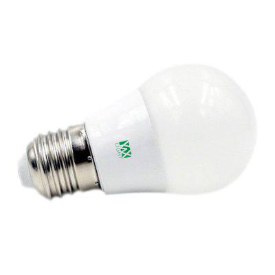 YWXLight E27 5W LED Light Bulbs Household Lighting Bulbs Human Body Induction AC 85 - 265VGlobe bulbs<br>YWXLight E27 5W LED Light Bulbs Household Lighting Bulbs Human Body Induction AC 85 - 265V<br><br>Angle: 360 Degrees, 360 Degrees<br>Available Light Color: Cold White,Warm White, Cold White,Warm White<br>Brand: YWXLight, YWXLight<br>CCT/Wavelength: 2700-3200K,6000-6500K, 2700-3200K,6000-6500K<br>Emitter Types: SMD 2835, SMD 2835<br>Features: Long Life Expectancy, Long Life Expectancy, Energy Saving, Sensor, Low Power Consumption, Low Power Consumption, Energy Saving, Sensor<br>Function: Home Lighting, Studio and Exhibition Lighting, Studio and Exhibition Lighting, Commercial Lighting, Commercial Lighting, Home Lighting<br>Holder: E27, E27<br>Lifespan: &gt;30000 Hours, &gt;30000 Hours<br>Luminous Flux: 400-500 LM, 400-500 LM<br>Output Power: 5W, 5W<br>Package Contents: 1 x YWXLight E27 Bulb Lamp, 1 x YWXLight Body Sensor, 1 x YWXLight E27 Bulb Lamp, 1 x YWXLight Body Sensor<br>Package size (L x W x H): 21.00 x 6.70 x 6.70 cm / 8.27 x 2.64 x 2.64 inches, 21.00 x 6.70 x 6.70 cm / 8.27 x 2.64 x 2.64 inches<br>Package weight: 0.1450 kg, 0.1450 kg<br>Product size (L x W x H): 19.50 x 6.00 x 6.00 cm / 7.68 x 2.36 x 2.36 inches, 19.50 x 6.00 x 6.00 cm / 7.68 x 2.36 x 2.36 inches<br>Product weight: 0.1230 kg, 0.1230 kg<br>Sheathing Material: PC, PC<br>Type: Ball Bulbs, Ball Bulbs<br>Voltage (V): AC 85-265, AC 85-265<br>Wattage Range: 5-10W, 5-10W