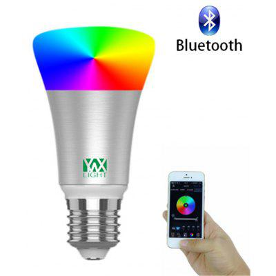 1PCS YWXLight Smart Bluetooth E27 RGB LED Light Music Controlled Colorful Lighting AC 110 - 240V