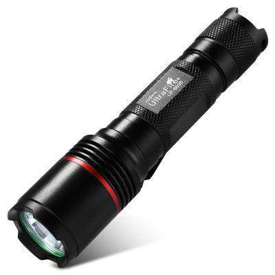 UltraFire UF - 6835 XM - L2 5-speed 1000LM Flashlight Clip SetLED Flashlights<br>UltraFire UF - 6835 XM - L2 5-speed 1000LM Flashlight Clip Set<br><br>Available Light Color: White<br>Battery Included or Not: No<br>Battery Quantity: 1<br>Battery Type: 18650<br>Beam Distance: 150-200m<br>Body Material: Aluminium Alloy<br>Circuitry: 3.7V<br>Color: Black<br>Color Temperature: 6000k-7500k<br>Emitters: Cree XM-L2<br>Emitters Quantity: 4 x Cree XM-L2<br>Feature: Pocket Clip, Popular<br>Flashlight size: Full Size<br>Flashlight Type: Safety,Spotlight<br>Function: Work, Walking, Seeking Survival, Night Riding, Bike, Emergency, Exploring, Household Use, Hunting<br>Light color: White light<br>Lumens Range: 500-1000Lumens<br>Mode: 5(High-Middle-Low-Strobe-SOS)<br>Mode Memory: No<br>Model: UF - 6835<br>Package Contents: 1x Flashlight, 1x Clip<br>Package size (L x W x H): 15.00 x 5.00 x 5.00 cm / 5.91 x 1.97 x 1.97 inches<br>Package weight: 0.1650 kg<br>Power Source: Battery<br>Product size (L x W x H): 13.00 x 3.00 x 3.00 cm / 5.12 x 1.18 x 1.18 inches<br>Product weight: 0.0860 kg<br>Rechargeable: Yes<br>Switch Location: Tail Cap<br>Waterproof Standard: IPX-4 Standard Water-resistant<br>Working Voltage: 3.7V<br>Zooming Function: No