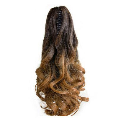 TODO 20 inch Ombre Claw Synthetic Clip-in Hair Extensions