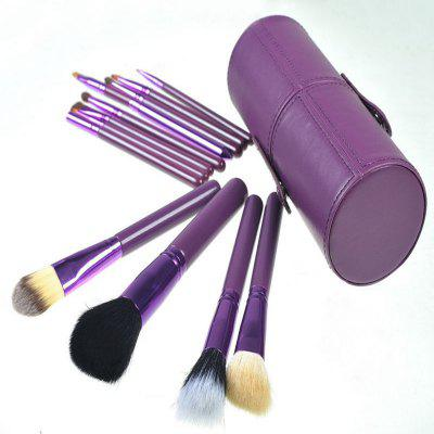 TODO 12pcs Makeup Brushes Cosmetic Tool with Cup Holder CaseMakeup Brushes &amp; Tools<br>TODO 12pcs Makeup Brushes Cosmetic Tool with Cup Holder Case<br><br>Brush Material: Fiber Hair, Goat Hair<br>Category: Blush Brush,Blusher,Brow Brush,Concealer Brush,Contour Brush,Eyelash Brush,Eyeshadow Brush,Foundation Brush,Lip Brush<br>For: Eye, Lip, Face<br>Handle Material: Metal, Plastic<br>Package Contents: 1 x Set of Makeup Brush<br>Package Size(L x W x H): 2.50 x 15.50 x 3.00 cm / 0.98 x 6.1 x 1.18 inches<br>Package weight: 0.2900 kg<br>Product Size  ( L x W x H ): 6.50 x 18.00 x 6.50 cm / 2.56 x 7.09 x 2.56 inches<br>Product weight: 0.2800 kg<br>Quantity range (pcs): 11-15<br>Type: Brush set