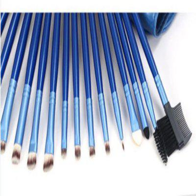 TODO 24pcs Royal Blue Professional Makeup Brushes Wood HandleMakeup Brushes &amp; Tools<br>TODO 24pcs Royal Blue Professional Makeup Brushes Wood Handle<br><br>Brush Material: Goat Hair, Horse Hair<br>Category: Blush Brush,Blusher,Brow Brush,Concealer Brush,Contour Brush,Eyelash Brush,Eyeshadow Brush,Fan Brush,Foundation Brush,Lip Brush,Liquid Eyeliner Brush,Other Brush<br>For: Eye, Lip, Face<br>Handle Material: Metal, Wood<br>Package Contents: 1 x Set of Makeup Brush<br>Package Size(L x W x H): 25.50 x 16.00 x 5.00 cm / 10.04 x 6.3 x 1.97 inches<br>Package weight: 0.5000 kg<br>Product Size  ( L x W x H ): 60.00 x 25.50 x 2.00 cm / 23.62 x 10.04 x 0.79 inches<br>Product weight: 0.4800 kg<br>Quantity range (pcs): 21-30<br>Type: Brush set