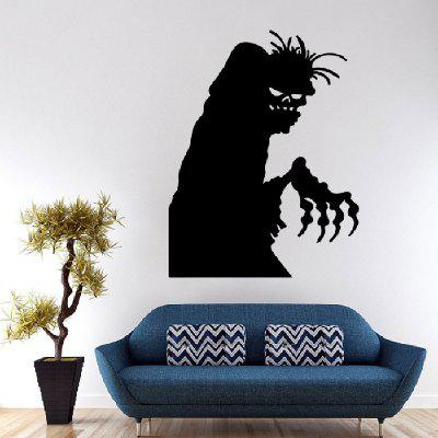 YEDUO Halloween Removable Wall Stickers Creative Ghosts Home Window Decal