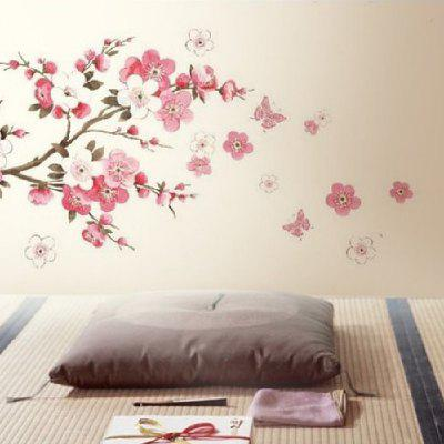 YEDUO Plum Flower Bedroom Decal Art Decor Wall Sticker