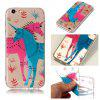Couple Unicorn Velcro Relief TPU Phone Case for Apple iphone 6s 6 - COLORMIX