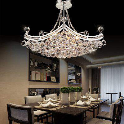 Buy TRANSPARENT ZGCY Crystal Boat Creative Chandelier for $239.99 in GearBest store