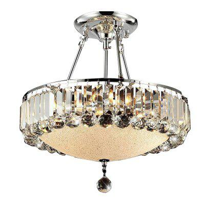 ZGCY European style creative Crystal Chandelier 220V / 110VPendant Light<br>ZGCY European style creative Crystal Chandelier 220V / 110V<br><br>Battery Included: No<br>Bulb Base: E12,E14<br>Bulb Included: No<br>Chain / Cord Length ( CM ): nothing<br>Features: Designers, Crystal<br>Finish: Electroplated<br>Fixture Height ( CM ): 45<br>Fixture Length ( CM ): 46<br>Fixture Width ( CM ): 46<br>Light Direction: Ambient Light<br>Number of Bulb: 6 Bulbs<br>Package Contents: 1 x The lamp body, 1 x Crystal<br>Package size (L x W x H): 46.00 x 46.00 x 45.00 cm / 18.11 x 18.11 x 17.72 inches<br>Package weight: 8.0000 kg<br>Product weight: 7.2000 kg<br>Shade Material: Crystal<br>Style: Nature Inspired, Modern/Contemporary, Chic &amp; Modern, Artistic Style<br>Suggested Room Size: 15 - 20?<br>Suggested Space Fit: Bedroom,Cafes,Dining Room,Office<br>Type: Ceiling Light<br>Voltage ( V ): AC110V,AC220