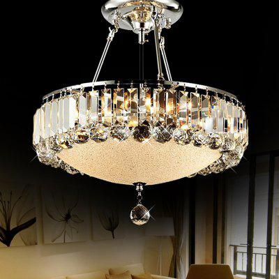 Buy SILVER ZGCY European style creative Crystal Chandelier 220V / 110V for $129.99 in GearBest store