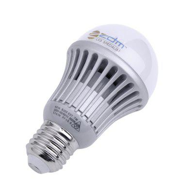 ZDM E27 7W 600-700lm 14-SMD 5730 LED Aviation Aluminum LED BulbGlobe bulbs<br>ZDM E27 7W 600-700lm 14-SMD 5730 LED Aviation Aluminum LED Bulb<br><br>Bulb Shape: A60 - A19<br>Certifications: RoHs<br>Color Temperature or Wavelength: 5500-6000K/3000-3200K<br>Connection: E27<br>Connector Type: E27<br>CRI: 80<br>Dimmable: No<br>Features: Light Control<br>Finish: Aluminum<br>Initial Lumens ( lm ): 600-700<br>IP rating: IP44<br>LED Beam Angle: 180 Degree<br>LED Chip Brand: San An<br>LED Quantity: 14<br>LED Type: SMD 5730<br>Lens Color: Diffused<br>Lifetime ( h ): More Than  50000<br>Light Source Color: Cold White,Warm White<br>Material: Die-cast Aluminum, Ultra Light Aluminium<br>Package Contents: 1 x Led Bulb<br>Package size (L x W x H): 6.20 x 6.20 x 11.20 cm / 2.44 x 2.44 x 4.41 inches<br>Package weight: 0.1120 kg<br>Plug Type: Other Plug<br>Power Supply: AC Powered,Built-in Power Supply<br>Primary Application: Cabinet,Ceiling,Everyday Use,Home Decoration,Home or Office,Hotel Dining Table,Living Room or Dining Room,Residential,Storage Room or Utility Room<br>Product size (L x W x H): 6.00 x 6.00 x 11.00 cm / 2.36 x 2.36 x 4.33 inches<br>Product weight: 0.0950 kg<br>Production Mode: Self-produce<br>Quantity: 1pc<br>Type: LED Globe Bulbs<br>Voltage: 220-240V<br>Wattage: 7W