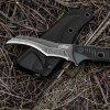 CIMA GD109 Outdoor Survival BLACK Claw Tactical Knife AUS-8 Full Tang Fixed Blade Knife - BLACK