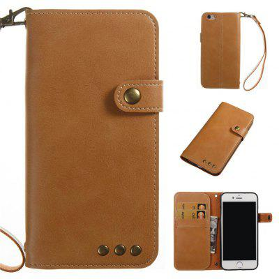 For IPhone 6s  6  PU Leather Material Crazy Horse Pattern Retro Simulation Phone Case