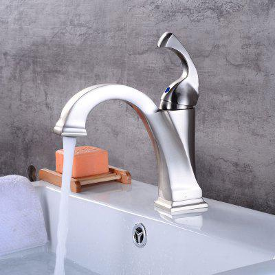 Brushed Nickel Single handle Lavatory Waterfall Bathroom Sink Faucet with Extra Large Rectangular Spout Basin Mixer Tap original new touch screen 10 1 archos 101b xs2 tablet touch panel digitizer glass sensor replacement free ship