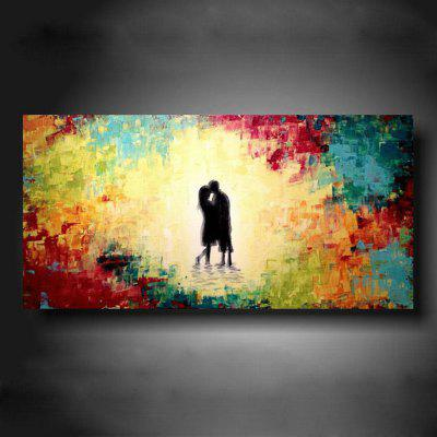 Buy COLORMIX Macroart Hand-painted Abstract Portrait Horizontal Art Painting Canvas Wall Home Decor for $45.74 in GearBest store
