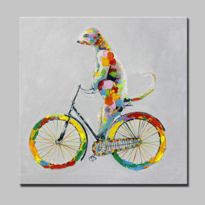 Buy COLORMIX Mintura Hand Painted Animal Oil Painting On Canvas Modern Abstract Wall Art Picture For Home Decor No Frame for $42.99 in GearBest store