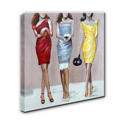 YHHP Abstract  Fashion Show Canvas Oil Painting Modern ArtOil Paintings<br>YHHP Abstract  Fashion Show Canvas Oil Painting Modern Art<br><br>Brand: YHHP<br>Craft: Oil Painting<br>Form: One Panel<br>Material: Canvas<br>Package Contents: 1 x Panel of Oil Painting<br>Package size (L x W x H): 62.00 x 62.00 x 5.00 cm / 24.41 x 24.41 x 1.97 inches<br>Package weight: 1.2000 kg<br>Painting: Include Inner Frame<br>Product size (L x W x H): 60.00 x 60.00 x 3.00 cm / 23.62 x 23.62 x 1.18 inches<br>Product weight: 0.7000 kg<br>Shape: Square<br>Style: Chic &amp; Modern<br>Subjects: People<br>Suitable Space: Living Room,Bedroom,Office,Study Room / Office