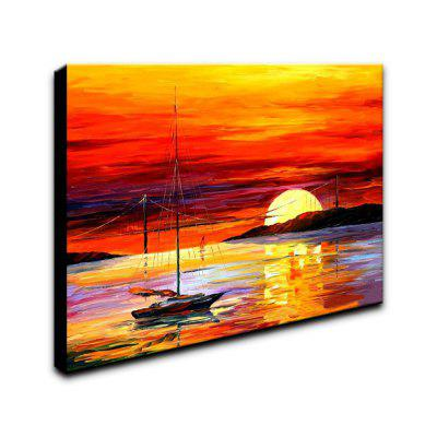 YHHP Abstract Sunset Seascape Canvas Oil Painting for Home DecorationOil Paintings<br>YHHP Abstract Sunset Seascape Canvas Oil Painting for Home Decoration<br><br>Brand: YHHP<br>Craft: Oil Painting<br>Form: One Panel<br>Material: Canvas<br>Package Contents: 1 x Panel of Oil Painting<br>Package size (L x W x H): 62.00 x 52.00 x 5.00 cm / 24.41 x 20.47 x 1.97 inches<br>Package weight: 1.0000 kg<br>Painting: Include Inner Frame<br>Product size (L x W x H): 60.00 x 50.00 x 3.00 cm / 23.62 x 19.69 x 1.18 inches<br>Shape: Horizontal<br>Style: Classics<br>Subjects: Landscape<br>Suitable Space: Living Room,Bedroom,Dining Room,Office,Study Room / Office