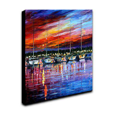 YHHP Hand-Painted Abstract Landscape The Harbour  One Panel Canvas Oil Painting for Home DecorationOil Paintings<br>YHHP Hand-Painted Abstract Landscape The Harbour  One Panel Canvas Oil Painting for Home Decoration<br><br>Brand: YHHP<br>Craft: Oil Painting<br>Form: One Panel<br>Material: Canvas<br>Package Contents: 1 x Panel of Oil Painting<br>Package size (L x W x H): 62.00 x 52.00 x 5.00 cm / 24.41 x 20.47 x 1.97 inches<br>Package weight: 1.0000 kg<br>Painting: Include Inner Frame<br>Product size (L x W x H): 60.00 x 50.00 x 3.00 cm / 23.62 x 19.69 x 1.18 inches<br>Product weight: 0.5500 kg<br>Shape: Vertical<br>Style: Gift<br>Subjects: Landscape<br>Suitable Space: Living Room,Office,Study Room / Office