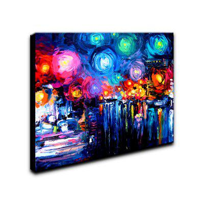 YHHP Hand-Painted Abstract Landscape Starry Sky One Panel Canvas Oil Painting for Home DecorationOil Paintings<br>YHHP Hand-Painted Abstract Landscape Starry Sky One Panel Canvas Oil Painting for Home Decoration<br><br>Brand: YHHP<br>Craft: Oil Painting<br>Form: One Panel<br>Material: Canvas<br>Package Contents: 1 x Panel of Oil Painting<br>Package size (L x W x H): 92.00 x 62.00 x 5.00 cm / 36.22 x 24.41 x 1.97 inches<br>Package weight: 1.2000 kg<br>Painting: Include Inner Frame<br>Product size (L x W x H): 90.00 x 60.00 x 3.00 cm / 35.43 x 23.62 x 1.18 inches<br>Product weight: 0.6500 kg<br>Shape: Horizontal<br>Style: Art Deco<br>Subjects: Abstract<br>Suitable Space: Living Room,Bedroom,Office,Study Room / Office