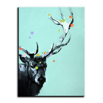 YHHP Sika Deer Canvas Oil Painting Modern ArtOil Paintings<br>YHHP Sika Deer Canvas Oil Painting Modern Art<br><br>Brand: YHHP<br>Craft: Oil Painting<br>Form: One Panel<br>Material: Canvas<br>Package Contents: 1 x Panel of Oil Painting<br>Package size (L x W x H): 72.00 x 5.00 x 5.00 cm / 28.35 x 1.97 x 1.97 inches<br>Package weight: 0.3000 kg<br>Painting: Without Inner Frame<br>Product size (L x W x H): 90.00 x 60.00 x 1.00 cm / 35.43 x 23.62 x 0.39 inches<br>Product weight: 0.2500 kg<br>Shape: Vertical<br>Style: Modern / Contemporary<br>Subjects: Animal<br>Suitable Space: Living Room,Office,Study Room / Office,Boys Room