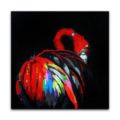 YHHP Abstract Colorful Swan Canvas Oil PaintingOil Paintings<br>YHHP Abstract Colorful Swan Canvas Oil Painting<br><br>Brand: YHHP<br>Craft: Oil Painting<br>Form: One Panel<br>Material: Canvas<br>Package Contents: 1 x Panel of Oil Painting<br>Package size (L x W x H): 72.00 x 4.00 x 4.00 cm / 28.35 x 1.57 x 1.57 inches<br>Package weight: 0.2000 kg<br>Painting: Without Inner Frame<br>Product size (L x W x H): 60.00 x 60.00 x 1.00 cm / 23.62 x 23.62 x 0.39 inches<br>Product weight: 0.1500 kg<br>Shape: Square<br>Style: Modern / Contemporary<br>Subjects: Animal<br>Suitable Space: Living Room,Bedroom,Office,Kids Room