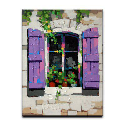YHHP Window Sill Flowers Canvas Oil Painting Modern Art Picture for Home Decoration No FrameOil Paintings<br>YHHP Window Sill Flowers Canvas Oil Painting Modern Art Picture for Home Decoration No Frame<br><br>Brand: YHHP<br>Craft: Oil Painting<br>Form: One Panel<br>Material: Canvas<br>Package Contents: 1 x Panel of Oil Painting<br>Package size (L x W x H): 62.00 x 4.00 x 4.00 cm / 24.41 x 1.57 x 1.57 inches<br>Package weight: 0.2000 kg<br>Painting: Without Inner Frame<br>Product size (L x W x H): 60.00 x 50.00 x 1.00 cm / 23.62 x 19.69 x 0.39 inches<br>Product weight: 0.1500 kg<br>Shape: Vertical<br>Style: Chic &amp; Modern<br>Subjects: Landscape<br>Suitable Space: Living Room,Bedroom,Office,Study Room / Office