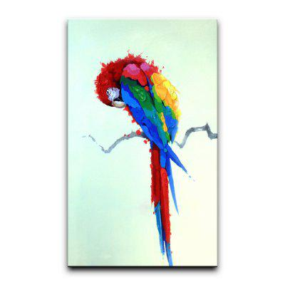 YHHP Color the Parrot Animal Oil Painting Modern Art Picture for Home Decoration No FrameOil Paintings<br>YHHP Color the Parrot Animal Oil Painting Modern Art Picture for Home Decoration No Frame<br><br>Brand: YHHP<br>Craft: Oil Painting<br>Form: One Panel<br>Material: Canvas<br>Package Contents: 1 x Panel of Oil Painting<br>Package size (L x W x H): 72.00 x 5.00 x 5.00 cm / 28.35 x 1.97 x 1.97 inches<br>Package weight: 0.3500 kg<br>Painting: Without Inner Frame<br>Product size (L x W x H): 100.00 x 60.00 x 1.00 cm / 39.37 x 23.62 x 0.39 inches<br>Product weight: 0.3000 kg<br>Shape: Vertical<br>Style: Chic &amp; Modern<br>Subjects: Animal<br>Suitable Space: Living Room,Office,Kids Room,Study Room / Office