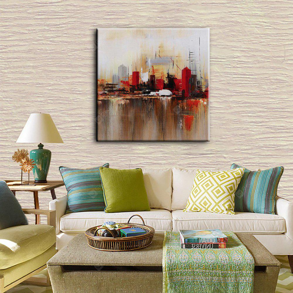 YHHP Abstract Decorative Hand-painted Canvas Oil Painting