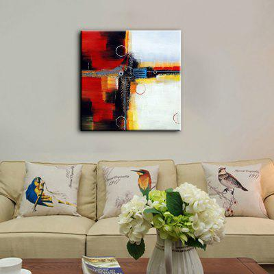 YHHP Modern Abstract Decorative Hand-painted Canvas Oil Painting