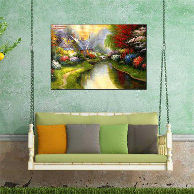 Hua Tuo Landscape Style Oil Painting 60 x 90CM HT-1170536Oil Paintings<br>Hua Tuo Landscape Style Oil Painting 60 x 90CM HT-1170536<br><br>Craft: Oil Painting<br>Form: One Panel<br>Material: Canvas<br>Package Contents: 1 x Oil Painting<br>Package size (L x W x H): 62.00 x 92.00 x 2.90 cm / 24.41 x 36.22 x 1.14 inches<br>Package weight: 1.2000 kg<br>Painting: Include Inner Frame<br>Product size (L x W x H): 60.00 x 90.00 x 2.70 cm / 23.62 x 35.43 x 1.06 inches<br>Product weight: 1.0000 kg<br>Shape: Horizontal Panoramic<br>Style: Floral<br>Subjects: Landscape<br>Suitable Space: Living Room,Dining Room,Office,Hotel,Cafes,Kids Room,Kids Room,Study Room / Office,Boys Room,Girls Room,Game Room