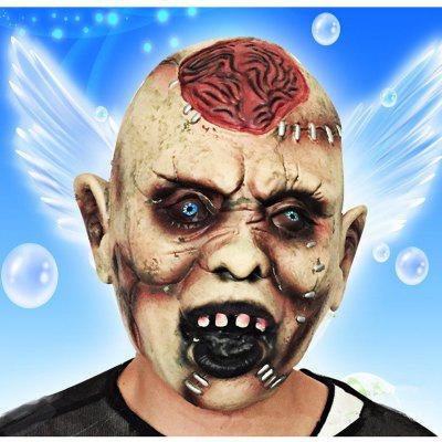 MCYH Halloween Horror Ghost Masks Spoof Moving PropsHalloween Supplies<br>MCYH Halloween Horror Ghost Masks Spoof Moving Props<br><br>Brand: MCYH<br>For: All<br>Material: Latex<br>Package Contents: 1 x Mask<br>Package size (L x W x H): 20.00 x 15.00 x 6.00 cm / 7.87 x 5.91 x 2.36 inches<br>Package weight: 0.3000 kg<br>Product size (L x W x H): 18.00 x 15.00 x 20.00 cm / 7.09 x 5.91 x 7.87 inches<br>Product weight: 0.2000 kg<br>Usage: Halloween, Performance, Easter, Stage