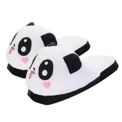 Cute Panda Winter Home Slippers Coral Velvet Upper Anti-skip OutsoleSlippers &amp; Flip-Flops<br>Cute Panda Winter Home Slippers Coral Velvet Upper Anti-skip Outsole<br><br>Available Size: 38-40<br>Gender: For Women<br>Heel Type: Flat Heel<br>Package Contents: 1 x Pair Slippers<br>Pattern Type: Character<br>Season: Winter, Spring/Fall<br>Slipper Type: Indoor<br>Style: Novelty<br>Upper Material: Coral FLeece<br>Weight: 0.9980kg