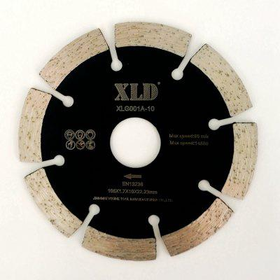 XLD 105mm Diamond Cold-pressed Segmented Saw Blade for Dry Cutting