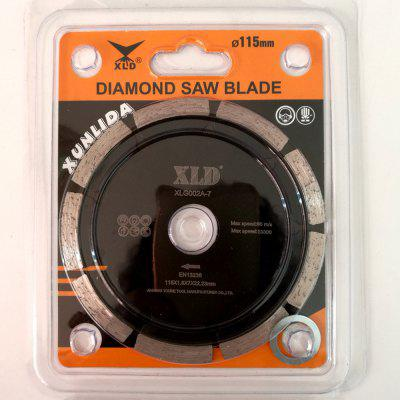 XLD Diamond Cold-pressed Segmented Saw Blade , Grade A?115*1.8*7*22.23 , Dry Use For Cutting Building MaterialsGarden Decking<br>XLD Diamond Cold-pressed Segmented Saw Blade , Grade A?115*1.8*7*22.23 , Dry Use For Cutting Building Materials<br><br>Color: Black<br>Material: Metal<br>Package Contents: Blister pack ?saw blade 1, gasket 1