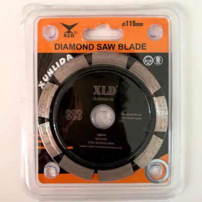 XLD Diamond Cold-pressed Segmented Saw Blade , Grade A?115*1.8*10*22.23,Dry Use For Cutting Building MaterialsGarden Decking<br>XLD Diamond Cold-pressed Segmented Saw Blade , Grade A?115*1.8*10*22.23,Dry Use For Cutting Building Materials<br><br>Color: Black<br>Material: Metal<br>Package Contents: Blister pack ?saw blade 1, gasket 1