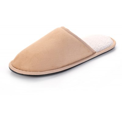 Men Mirco Fabric House Slippers Lining TPR Outsole