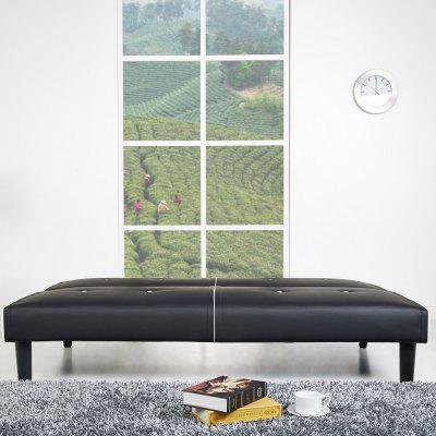 Sofa Bed in Black and WhiteHome Furniture<br>Sofa Bed in Black and White<br><br>Applicable for: 1-3 persons<br>Applicable People: Universal<br>Assembled: No<br>Brand: HappyHome<br>Features: Multi purpose, Space saving, Solid durable, No smell, Low-formaldehyde<br>Filler: Foam,Sponge<br>Finishing material: PVC<br>Furniture Style: Fashion,Simple<br>Furniture type: Bedroom furniture,Game room furniture,Living room furniture,Office Furniture,Other furniture,Study room furniture<br>Layers: 1 layer<br>Load-bearing (Max.): 200 Kg<br>Material: PVC, Pine, Others<br>Package Contents: 1 x Schlafsofa, 1 x Schrauben-Set, 1 x Montageanleitung<br>Package size (L x W x H): 182.00 x 113.00 x 16.70 cm / 71.65 x 44.49 x 6.57 inches<br>Package weight: 28.6000 kg<br>Packing method: Cartons,Pearl Cotton<br>Product size (L x W x H): 180.00 x 91.00 x 78.00 cm / 70.87 x 35.83 x 30.71 inches<br>Product Type: Leather sofa, Multi-functional sofa, Sofa bed<br>Product weight: 26.3000 kg<br>Scalable: Yes<br>Speail crafts: Others<br>Switch material: Others<br>With cabinet: No<br>With guardrail: No<br>With Lock: No