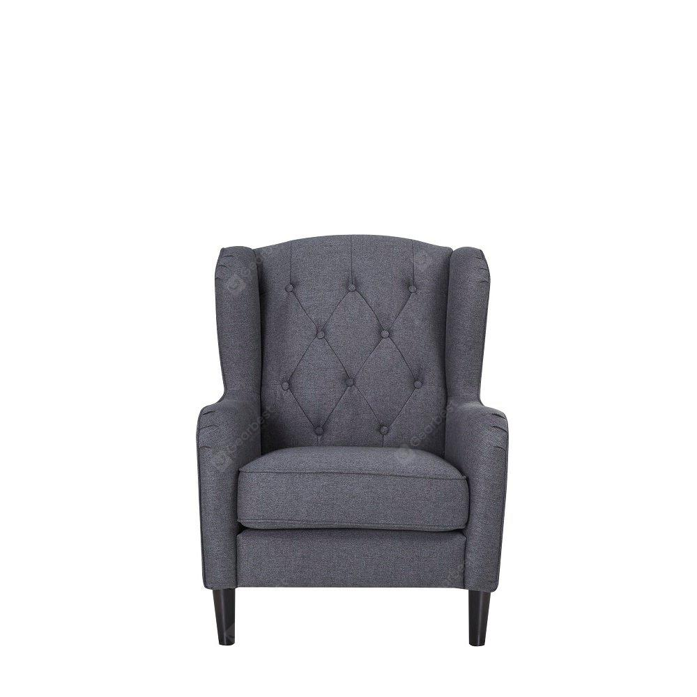 Wing Chair in Dark Gray - Only Deliver to Germany / Support Local Delivery and After-sales Service