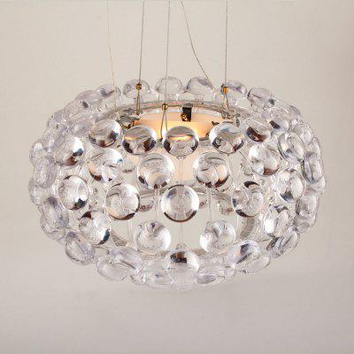Acrylic Contemporary Pendant Ceiling LightPendant Light<br>Acrylic Contemporary Pendant Ceiling Light<br><br>Basic Attribute: No<br>Battery Included: No<br>Bulb Base: R7S<br>Bulb Included: Yes<br>Bulb Type: LED<br>Chain / Cord Adjustable or Not: Chain / Cord Adjustable<br>Chain / Cord Length ( CM ): 100<br>Color Temperature or Wavelength: 3000<br>Decoration Material: Crystal,Metal<br>Dimmable: No<br>Features: Crystal, Designers<br>Finish: Mirror Polished<br>Fixture Height ( CM ): 20<br>Fixture Length ( CM ): 20<br>Fixture Material: Crystal<br>Fixture Width ( CM ): 35<br>Light Direction: Downlight<br>Light Source Color: Warm White<br>Number of Bulb: 1 Bulb<br>Number of Bulb Sockets: 1<br>Number of Tiers: Single Tier<br>Package Contents: 1 x Ceiling Light<br>Package size (L x W x H): 42.00 x 42.00 x 29.00 cm / 16.54 x 16.54 x 11.42 inches<br>Package weight: 3.0500 kg<br>Product size (L x W x H): 35.00 x 35.00 x 120.00 cm / 13.78 x 13.78 x 47.24 inches<br>Product weight: 3.0000 kg<br>Remote Control Supported: No<br>Shade Material: Metal, Crystal<br>Stepless Dimming: No<br>Style: Modern/Contemporary, Artistic Style, Chic &amp; Modern, Globe, LED<br>Suggested Room Size: 40 - 50?<br>Suggested Space Fit: Bathroom,Bedroom,Boys Room,Cafes,Girls Room,Indoors,Kids Room,Living Room<br>Type: Retro<br>Voltage ( V ): 110 - 120,220V - 240V<br>Wattage (W): 100W<br>Wattage per Bulb ( W ): 100