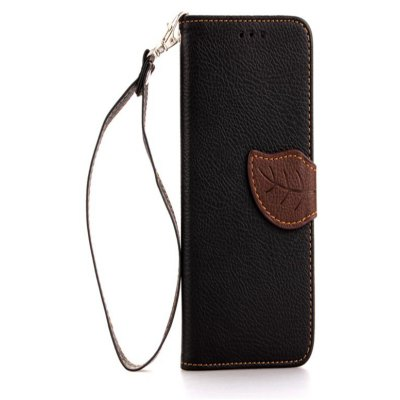 Leaf Card Lanyard Pu Leather Pour LG G2