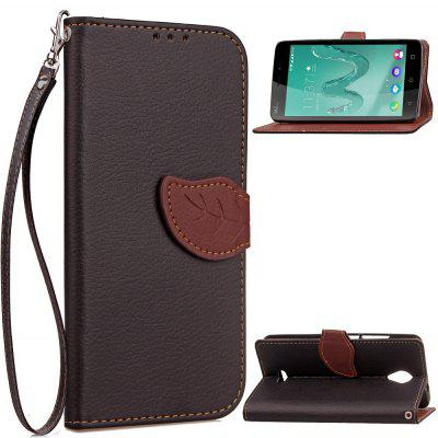 Buy BLACK Love Leaf Card Lanyard Pu Leather for Viko Freddy for $6.07 in GearBest store