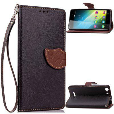 Buy BLACK Love Leaf Card Lanyard Pu Leather for Viko Lenny2 for $5.93 in GearBest store