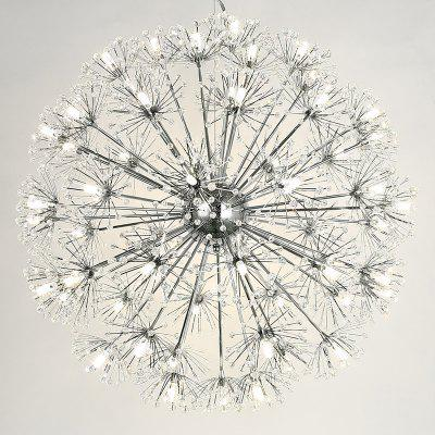 LANSHI Creative Crystal Dandelion Chandelier Remote Control Home Lighting Pendant LampPendant Light<br>LANSHI Creative Crystal Dandelion Chandelier Remote Control Home Lighting Pendant Lamp<br><br>Battery Included: No,Non-preloaded<br>Bulb Base: G4<br>Bulb Included: Yes<br>Bulb Type: LED<br>Chain / Cord Adjustable or Not: Chain / Cord Adjustable<br>Chain / Cord Length ( CM ): 120CM<br>Decoration Material: Crystal,Metal<br>Dimmable: Yes<br>Features: Crystal<br>Finish: Electroplating<br>Fixture Height ( CM ): 50CM<br>Fixture Length ( CM ): 145CM<br>Fixture Material: Crystal,Metal<br>Fixture Width ( CM ): 50CM<br>Light Direction: Uplight<br>Number of Bulb: More than 20 Bulbs<br>Number of Bulb Sockets: More Than 20<br>Package Contents: 1 x Lamp Body, 24 x Petal, 1 x Pack of Accessories<br>Package size (L x W x H): 41.00 x 23.00 x 22.00 cm / 16.14 x 9.06 x 8.66 inches<br>Package weight: 3.5000 kg<br>Remote Control Supported: No<br>Shade Material: Crystal<br>Stepless Dimming: Yes<br>Style: Chic &amp; Modern<br>Suggested Room Size: 20 - 30?<br>Suggested Space Fit: Bedroom,Cafes,Dining Room,Garden,Indoors,Kids Room,Living Room,Office,Study Room<br>Type: Chandeliers, Ceiling Light<br>Voltage ( V ): 110V - 220V,220V - 240V<br>Wattage per Bulb ( W ): MAX 20W