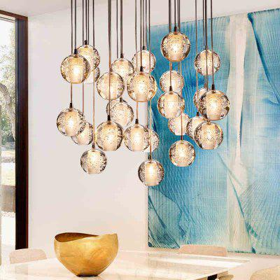 LANSHI Modern Clear Cast Glass Ball Meteor Shower Chandelier With Polished Chrome Stainless Steel Lighitng Fixture 220 - 240VPendant Light<br>LANSHI Modern Clear Cast Glass Ball Meteor Shower Chandelier With Polished Chrome Stainless Steel Lighitng Fixture 220 - 240V<br><br>Battery Included: No<br>Bulb Base: G4<br>Bulb Included: Yes<br>Certifications: CE,FCC<br>Chain / Cord Adjustable or Not: Chain / Cord Adjustable,Chain / Cord Not Adjustable<br>Chain / Cord Length ( CM ): 120CM<br>Decoration Material: Crystal<br>Dimmable: No<br>Features: Crystal<br>Fixture Height ( CM ): 10CM<br>Fixture Length ( CM ): 10CM<br>Fixture Material: Crystal<br>Fixture Width ( CM ): 10CM<br>Light Direction: Uplight<br>Light Source Color: Cold White<br>Number of Bulb: 1 Bulb<br>Number of Bulb Sockets: 1<br>Package Contents: 1*The lamp body 1*light source 1*Installation instructions<br>Package size (L x W x H): 15.00 x 15.00 x 22.00 cm / 5.91 x 5.91 x 8.66 inches<br>Package weight: 1.4700 kg<br>Remote Control Supported: No<br>Shade Material: Crystal<br>Style: Modern/Contemporary<br>Suggested Room Size: 0 - 5?<br>Suggested Space Fit: Garden,Bedroom,Dining Room,Office,Cafes,Kids Room,Indoors,Study Room<br>Type: Ceiling Light<br>Voltage ( V ): 110 - 120,220V - 240V<br>Wattage (W): 3.5<br>Wattage per Bulb ( W ): MAX 20W
