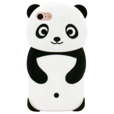 3D Animal Panda Soft Silicone Phone Case para iPhone 7