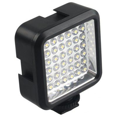 36 LED Video Light Lamp + Battery + Charger Nikon / Canon For DV Camcorder DSLR