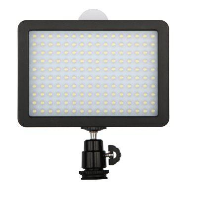 10.5W 160 LED Photo Video Camera Flash Strobe Light Lamp for Canon / Nikon / Sony DVPhoto Studio Accessories<br>10.5W 160 LED Photo Video Camera Flash Strobe Light Lamp for Canon / Nikon / Sony DV<br><br>Material: ABS<br>Package Contents: 1 x High Quality WANSEN-W160 Video Light, 1 x White filter, 1 x Yellow Filter, 1 x Hot Shoe Adpater Ball Pan / Tilt Head<br>Package size (L x W x H): 14.00 x 10.00 x 5.00 cm / 5.51 x 3.94 x 1.97 inches<br>Package weight: 0.3670 kg<br>Product size (L x W x H): 13.30 x 9.50 x 4.40 cm / 5.24 x 3.74 x 1.73 inches<br>Product weight: 0.3070 kg