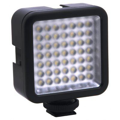 Mini 49 LED Video Licht für Canon / Nikon DSLR Kamera Camcorder DVR DV