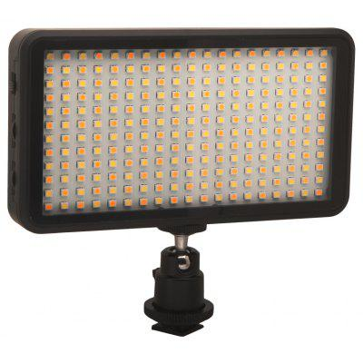 228 LED Light Light Lamp Lamp Dimmable 20W 2000LM para DSLR Camera DV Camcorder